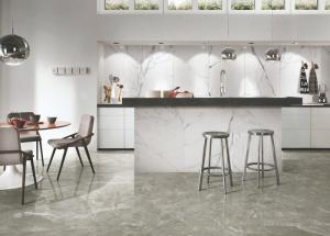 China Marble Look Porcelain Ceramic Tile , Non Slip Porcelain Floor Tiles on sale