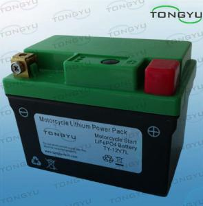 China 12V 7Ah LiFePO4 Starter Battery Ultra Light For Motorcycle With Amp 150A Cold Cranking on sale