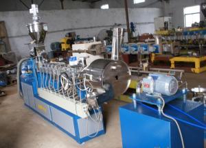 China Plástico que recicl a máquina da peletização/máquina plástica do granulador on sale