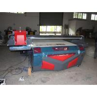8 Color Digital UV Printers 1.5x1.3m Flatbed , Digital Printing Press Devices CE / CCC / SGS