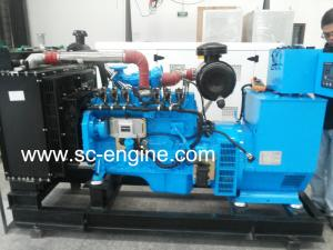 China generador del gas natural 120kw con Cummins Engine on sale