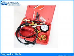 China Car Manometer Injection Engine Fuel Pressure Gauge Kit 1-140PSI on sale