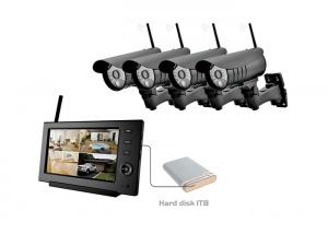 China SD Memory Card Remote Home Surveillance TFT LCD Single Screen Wireless DVR on sale