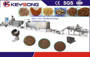 China Full Automatic Pet Food Making Machine Good Performance Long Service Life on sale