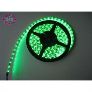 China Coppered PCB DC12 / 24V 3528 SMD Green Flexible LED Strip Lights For Bars Lighting on sale