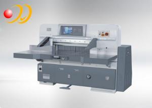 China Railde guideautomatique de double de machine de coupeur de papier de moteur servo on sale