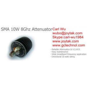China Type de SMA prise du watt 8Ghz SMA de l'atténuateur 10 aux atténuateurs fixes de cric de SMA/SMA-JK10W8G on sale