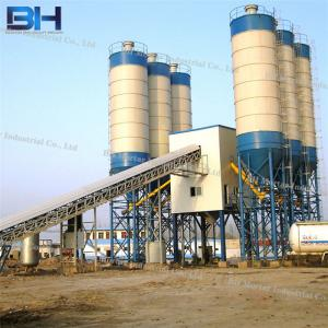China Stationary Type Concrete Mixing Plant For Bridge Construction Sites on sale