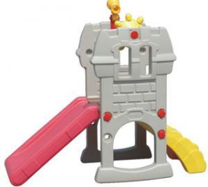 China Children Playground Commercial Plastic Playground Slide Equipments on sale