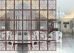 Different Material Decorative Metal Screen Panels Eco Friendly For Conference Rooms
