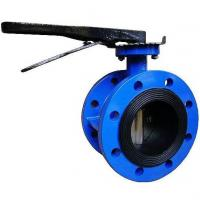 Double Flanged Center Line Butterfly Valve