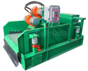 China 130m3/H Capacity Linear Motion Shale Shaker Mud Circulation System 2.6m2 Screen Area on sale