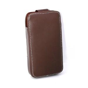 China perfect handmade workmanship for top Italy leather mobile phone case for iphone 4/4s on sale