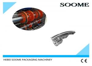 China Drawing Size Corrugated Machine Parts , Stainless Steel Mbo Folder Parts Manual Type on sale