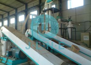 China Biomass Pellet Production Line With Automatic Lubricating PLC Control System on sale