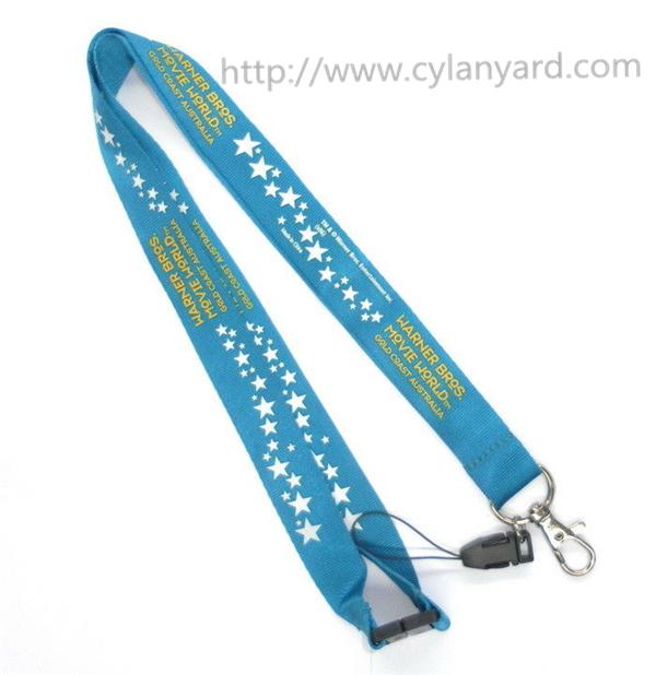 imprinted id badge holder lanyards
