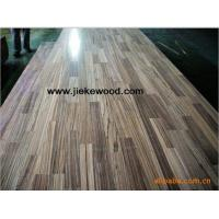 China Wenge solid wood panels finger jionted panels countertops table tops butcher block tops kitchen tops Island tops on sale