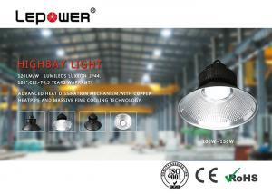 China High Brightness LED Bay Light Fixtures 60w ,  High Bay LED Shop Lights No UV Or IR Radiation on sale