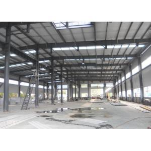 Metallic Structural Steel Workshop Wide Span Earthquake Resistance Water Proffing