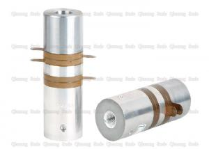 China Welding Process High Frequency Ultrasound Transducer With PZT8 Ceramics Middle Aluminum Type on sale