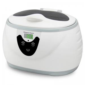 China 0.6L Stainless Steel Digital Timer Jewelry Glass Dental Ultrasonic Cleaner Bath on sale