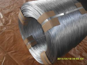 China 11# hot dip galvanized steel wire on sale