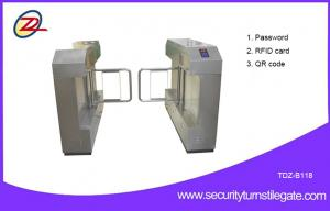China Rfid Password Pedestrian Automated Turnstile Door For Traffic Control on sale