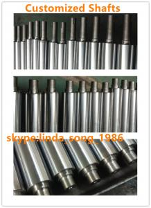 China Chrome plated Cylinder linear guide axis shaft smooth rod on sale