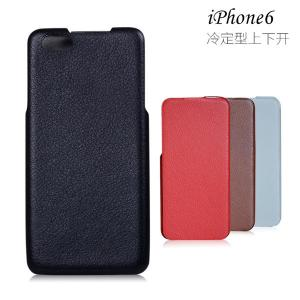 China New arrival PU leather case vertical flip for Apple iphone 6, cell phone PU leather case, on sale