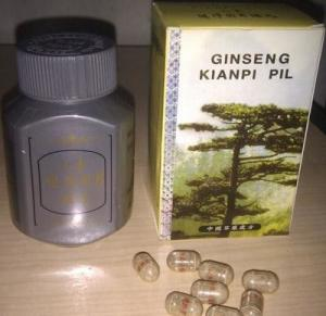 Quality Strong Quick Herbal Original Ginseng Kianpi Pil Herbal Weight Pills To Improve for sale