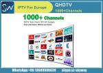 QHDTV Iptv Account 1 year Free 1300 HD Channels for MAG 250 IPTV TV Box