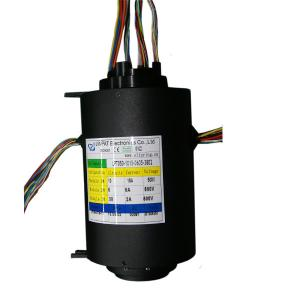 China Compact 54 Circuit Big Bore Slip Ring with 50mm Hole Dia for Offshore Cranes on sale