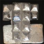 China Ingot Shape High Purity Aluminium Master Alloy AlTi AlCu AlV AlSr AlZr wholesale