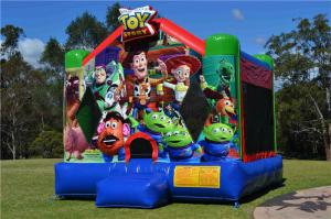 China PVC Tarpaulin Inflatable Toy Story Jumping Castle For Playground / Amusement Park on sale