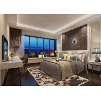 China Modern Design Teak Wood Veneer Hotel Furniture 5 star For Bedroom Set on sale