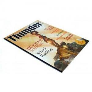 China Superior Printing Trade Magazines Service with Matt Lamination Cover on sale