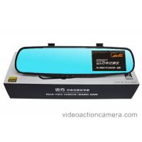 4.3 Inches Dual Camera Dash Cam Full HD 1080P With Wide Angle Accelerometer