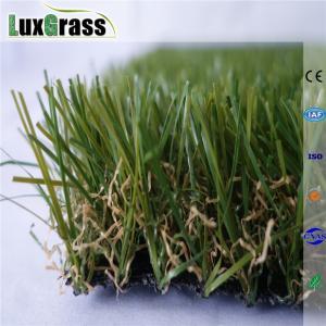 China Artificial Grass Landscape Turf 30mm Soft Safe Garden Artificial Grass on sale