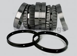 China Two Row Cylindrical Axial Rolling Mill Bearings Double Counter C1 NNUP50120-2Z on sale