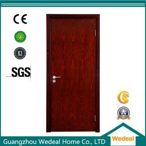 China Porte de panneau intérieure en bois de PVC de porte principale de peau de porte pour l'approvisionnement de pièce/villa/hôtel/usine de projet on sale