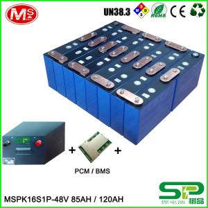 China LiFePO4 3.2V 85AH Lithium Ion Club Car Golf Cart Batteries UN38.3 / MSDS on sale