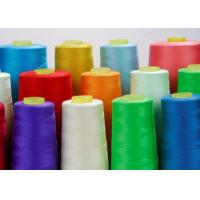 China Virgin 100 Spun Polyester Sewing Thread For Garment Sewing 40s / 2 Good Elasticity on sale