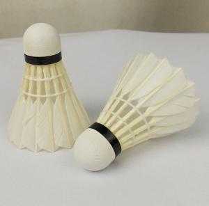 China Class A Badminton Goose Feather Shuttlecocks on sale