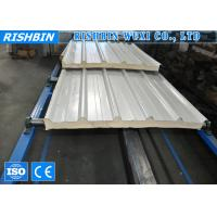 Light Weight Corrugated Sandwich Panel Forming Line for Rack Wool Roof Panel