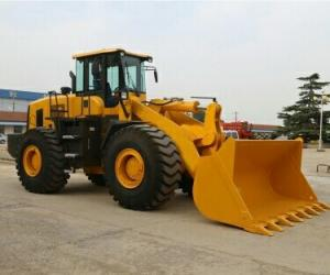 China 3.3m3 Bucket Earth Excavation Machine , 6 Ton Compact Wheel Loader Machine on sale