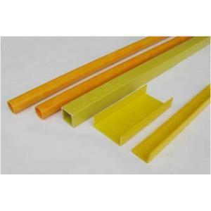 China Pultruded Fiberglass Composite Insulator Rod High Acid Resistance on sale