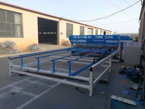 China Feeding of Longitudinal Wire Mesh Fence Panel Welding Machine Width 2.5m on sale