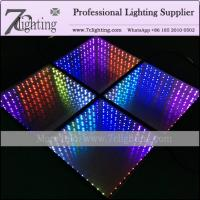 New 3D Illusions Mirror LED Dance Floor Rental Stage Lighting Supply