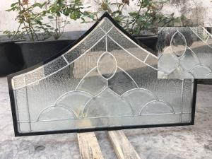 China Float Tempered Decorative Panel Glass For Architectural Door Flat Edge on sale