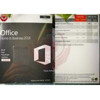 OEM Software Microsoft Office Home And Business 2016 For Mac DVD + Key License